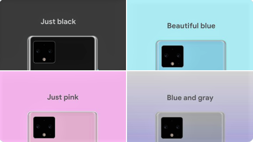 Google Pixel 4 And 4 XL feature, pixel 4 new colour