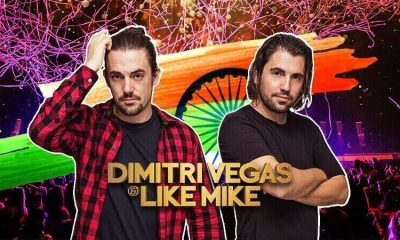 Ready to Madness DJ Duo Dimitri Vegas And Like Mike India tour With Sunburn Arena
