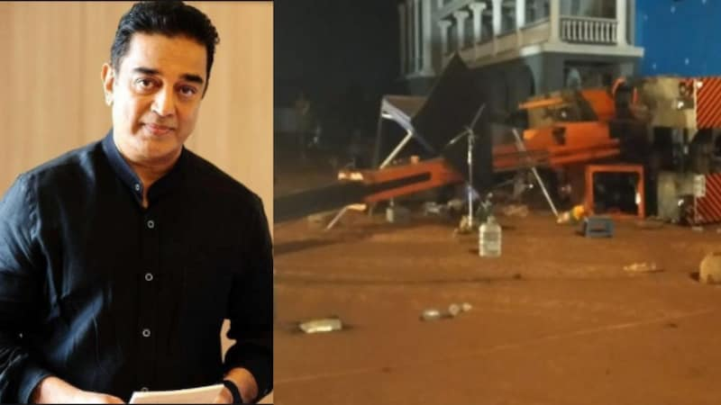 3 people died on the set during the shooting of Kamal Haasan film