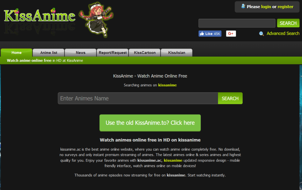 kissAnime Top altrnative Anilinkz